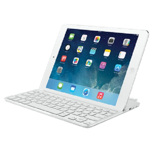 LOGITECH Ultrathin Keyboard Cover for iPad Air [920-005542] - White - Gadget Keyboard
